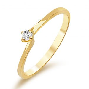 Verlobungsring Gelbgold TWBK016005